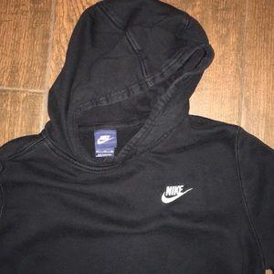 Black boys Nike hoodie